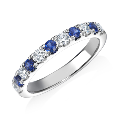 ジュエリー リング COLOUR STONE UNION JACK COLOR ETERNITY RING J3701
